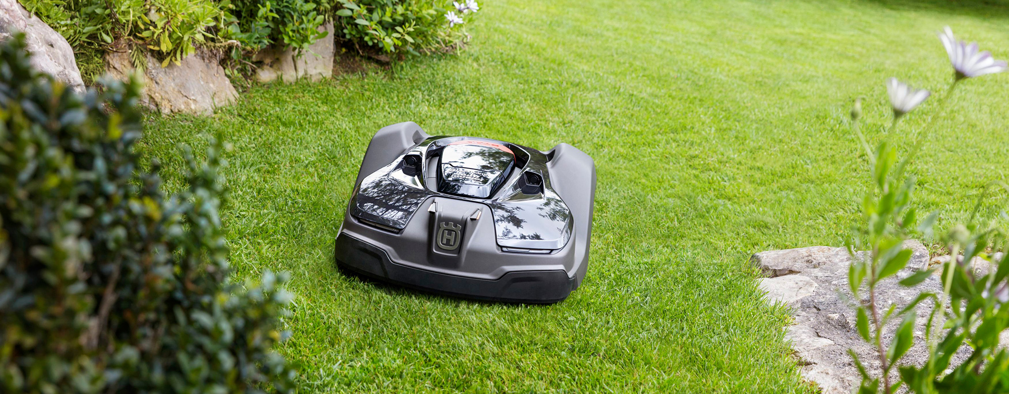 Robotic mowers from Husqvarna